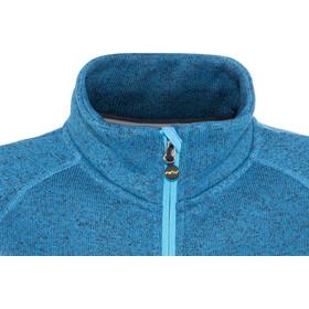 Meru W's Märsta Knitted Fleece Jacket Seaport Melange
